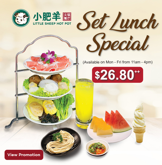 Little Sheep Hot Pot Promo